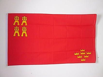 AZ FLAG Bandera de la REGIÓN DE Murcia 150x90cm - Bandera ...