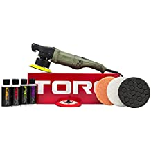 Torq BUF501 X 10FX Random Orbital Polisher Kit (Polisher + 9 Items)