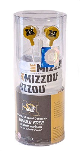 iHip NCAA Licensed Shoelace Earbuds product image
