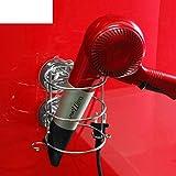 Hair Blower Shelf Bathroom Dryer Holder Bathroom Dryer Holder-A