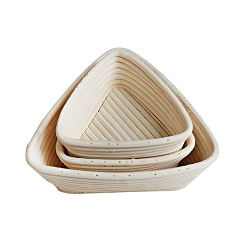 Best Quality - Baking Inserts - Creative Fermentation Rattan Basket Country Bread Baguette Dough Banneton Bread Mould Pastry Storage Holder Fruit Baskets - by GTIN - 1 PCs by HIBISCUS. (Image #3)
