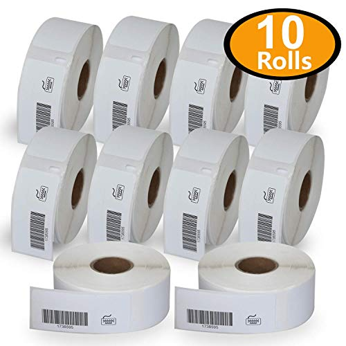 10 Rolls Dymo 1738595 Compatible 3/4