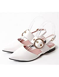 Believed Pointy Toe Slip On Flats Low Heel Office Daily Walking Shoes for Women