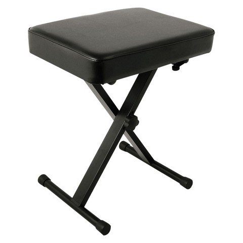 World Tour SXBN Deluxe Padded Keyboard Bench