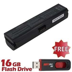 Battpit Bateria de repuesto para portátiles Toshiba Dynabook MX/43KWH (6600 mah) Con memoria USB de 16GB GRATUITA