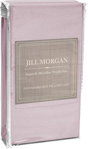 Home Dynamix JMFS-351 Jill Morgan Fashion Pillowcases (2 Pack), Standard, Solid, Lilac