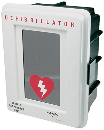 Allegro Industries 4400‐D Plastic Defibrillator Wall Case by Allegro Industries