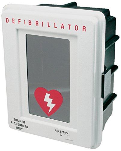 Allegro Industries 4400-D Plastic Defibrillator Wall Case