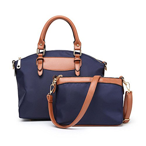 Oxford Khaki Fashion Bun Handbag Cloth New Handbag GWQGZ Blue Mother O8UWwv6Ex