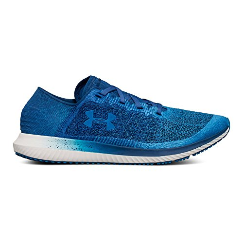 Under Armour Men's Threadborne Blur Running Shoe, Studio (300)/Moroccan Blue, 13