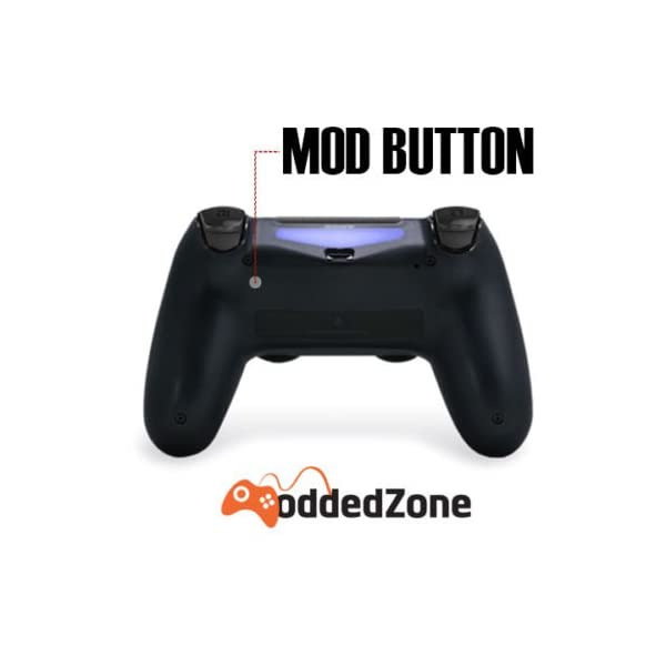 Zombie PS4 PRO Rapid Fire Custom Modded Controller 40 Mods for All Shooter Games, Auto Aim, Quick Scope Sniper Breath (CUH-ZCT2U) 5