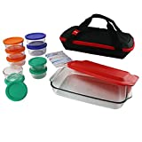 Pyrex Ovenware With Lids Pyrex Ovenware Compact Glass Reusable Microwave Ovenware Set & E book By Easy2Find