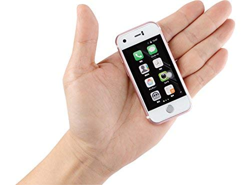 Mini Smartphone iLight 7s, World's Smallest 7Plus Android Mobile Phone, Super Small Tiny Micro 2.4