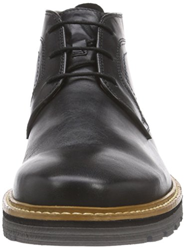 Newkirk Clarks Nero Uomo Leather Black Top Stivaletti Cvwqx06w1
