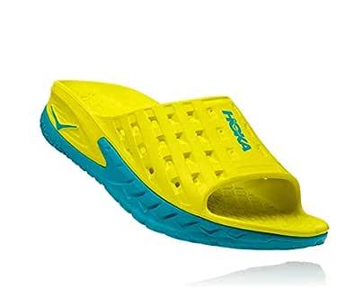 HOKA ONE ONE Men's Ora Recovery Slide Blue Size: 12