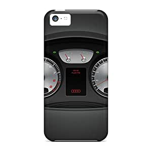 linJUN FENGPremium MuzDmZO5657YiotV Case With Scratch-resistant/ Audi Black Case Cover For Iphone 5c