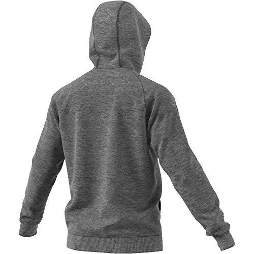 Grigio Uomo nero brgros Core18 Felpa Hoody Adidas w7I0IS