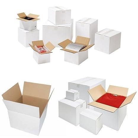 100x Karton Faltkarton Versandkarton Verpackungen Schachtel 150x150x150mm