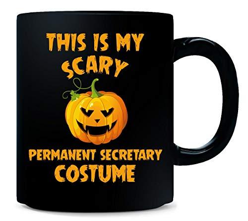 This Is My Scary Permanent Secretary Costume Halloween Gift - Mug