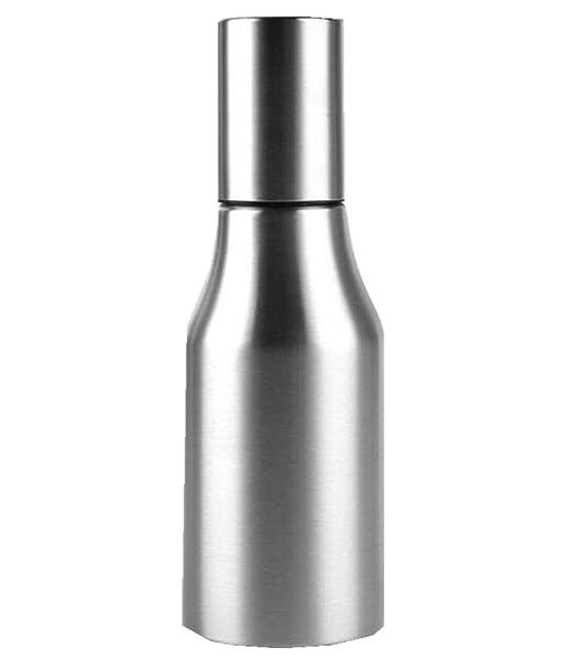 1000ml/34FL OZ Cocina Botella de aceite de oliva Cocinar Dispensador de vino Salsa de vinagre Contenedor de vinagreta Caset de acero inoxidable a prueba de ...