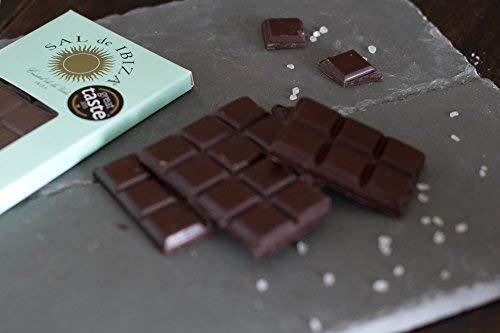 Sal de Ibiza salados oscuro Chocolate 80 g: Amazon.es: Alimentación y bebidas