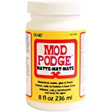 Mod Podge Waterbase Sealer, Glue and Finish (8-Ounce), CS11301 Matte