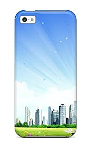 Hard Plastic Iphone 4/4s Case Back Cover,hot City Fantasy Case At Perfect Diy