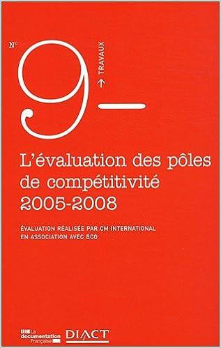 Livres L'évaluation des pôles de compétitivité epub pdf