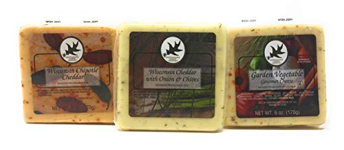 - Gourmet Cheeses, Assorted, 6 Oz Squares (3 Pack)