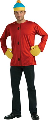 Rubies Mens Cartman South Park Tv Characters Theme Party Fancy Dress Costume, One (Cartman South Park Costume)