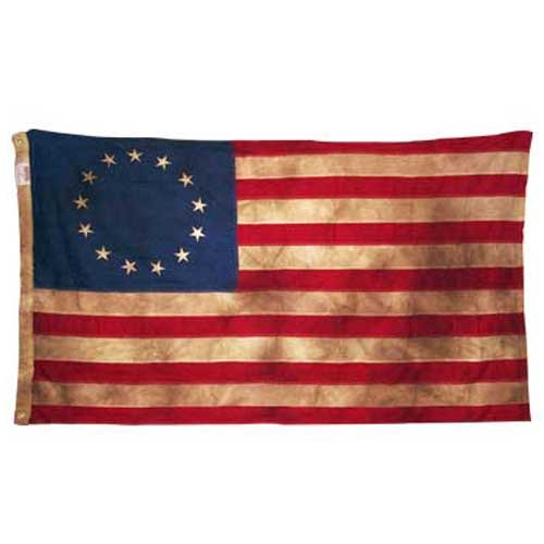 Valley Forge, American Flag, Cotton, 3