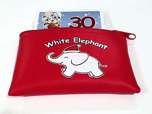 Apostrophe Games White Elephant Card Set