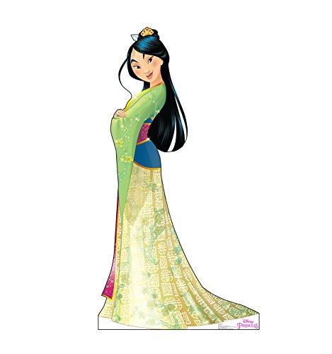 Advanced Graphics Mulan Life Size Cardboard Cutout Standup - Disney Princess Friendship Adventures -