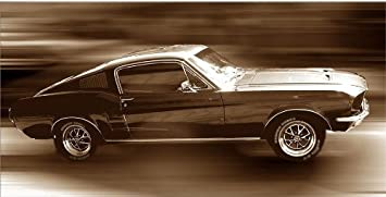 Startonight Canvas Wall Art Ford Mustang Cars Usa Design For Home Decor Dual View