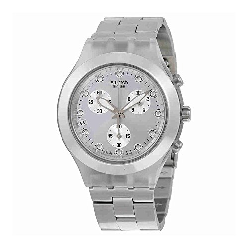 Swatch Men's SVCK4038G Full Blooded Silver Watch