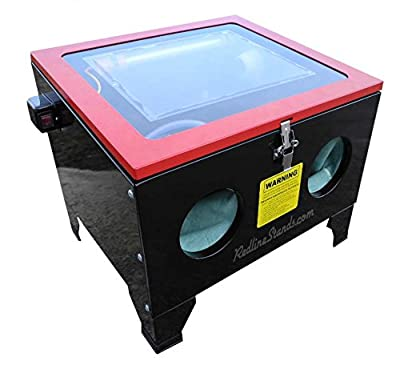 Redline RE26KD Benchtop Knock Down Sand Glass Bead Media Blasting Cabinet