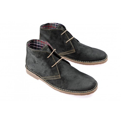 excellent cheap price cheap prices Ikon GOBI DESERT GREY SUEDE CLASSIC LACE MEN'S SHOES FASHIONS RETRO MOD SKA best place to buy discount shop offer deyygtD