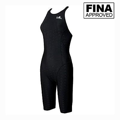 YingFa One Piece Racing Swimsuit for Girls Kneeskin Technical Swimsuit Training Swimsuit Girl's Size 6-8 /Speedo Size 26/China Size S, 925-1