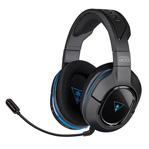 Turtle Beach - Ear Force Stealth 400 Fully Wireless Gaming Headset - (Certified Refurbished) - PS4 (Discontinued by Manufacturer)
