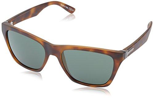 VonZipper Booker Wayfarer Sunglasses,Demi Tortoise Satin,54.6 - Sunglasses Von Womens Zipper
