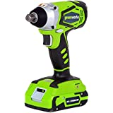 Greenworks 24V Cordless Impact Wrench with Batteries and Charger | 3800302