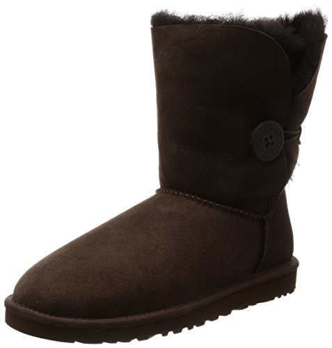Planas Marrón Botas Bailey Choco Button UGG 5803 Mujer Pxq7nfSwC