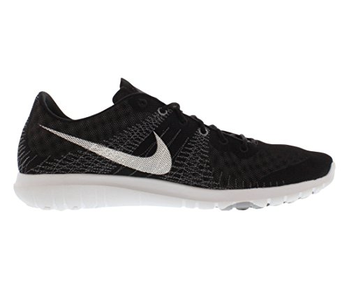 Nike Mens Flex Fury Athletic, Zwart / Wit-wolf Grijs-cl Grijs, 8