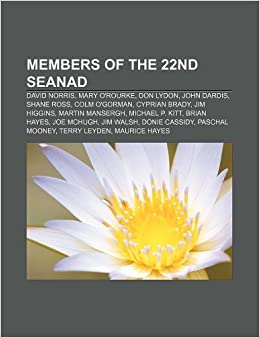 Buy Members of the 22nd Seanad: David Norris, Mary O'Rourke, Don