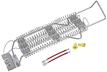 roper dryer heating element wiring diagram amazon com compatible dryer heating heater element for whirlpool  compatible dryer heating heater element