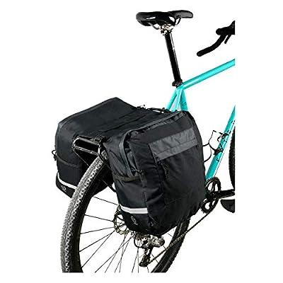 Sunlite Utili-T 1 Pannier, 12 x 10 x 5, Black : Bike Panniers And Rack Trunks : Sports & Outdoors