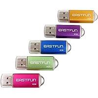 EASTFUN 5Pcs 8GB USB Flash Drive USB 2.0 Flash Memory...