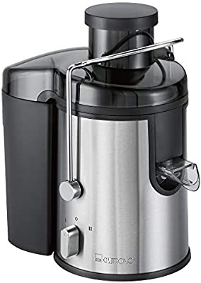 Clatronic AE 3666 Licuadora para verduras y frutas, 400 W, 1.5 litros, Acero inoxidable, 2 Velocidades, Gris: Amazon.es: Hogar