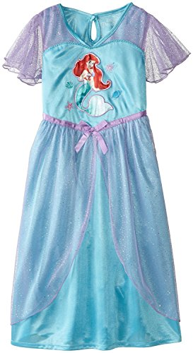 ariel the little mermaid blue dress - 6