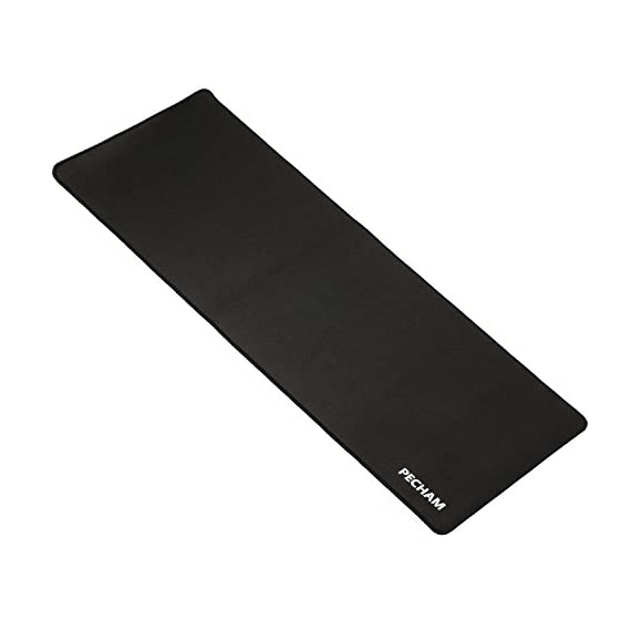 PECHAM-Extended-Gaming-Mouse-Pad-Non-Slip-Water-Resistant-Rubber-Base-Cloth-Computer-Mouse-Mat-3071×1181-Inch-3mm-Thick-XX-Large-Black